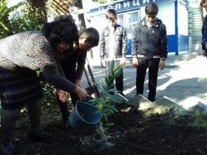 Муселимян Гоар Еноковна со своим классом.
